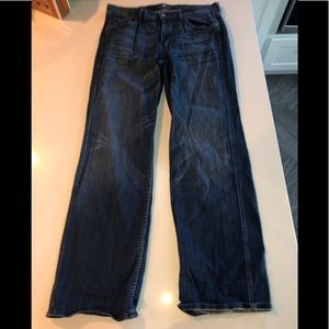 7 for all mankind jeans a pocket relaxed fit 36x33